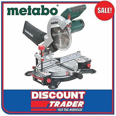 Metabo 216mm Crosscut Compound Mitre Saw - KS 216 M Lasercut