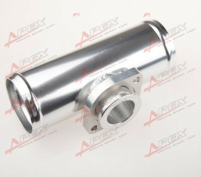 """Universal 2.5"""" Type-S-Rs Blow Off Valve Adapter Turbo Aluminum Flange Pipe Tube"""