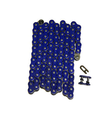 Blue 520x112 O-Ring Drive Chain ATV Motorcycle MX 520 Pitch 112 Links