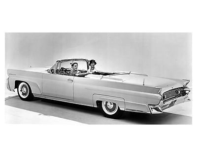 1958 Lincoln Continental Factory Photo ub5223-XWVPEP
