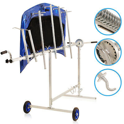 Rotating Car Van Garage Workshop Vehicle Body Panel Paint Repair Stand Rack