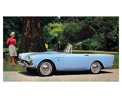 1966 1967 Sunbeam Alpine 1725 Automobile Photo Poster zc3143-BALE3P