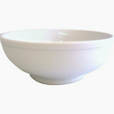 """Tatung 8"""" White Noodle Bowl Made in Taiwan"""