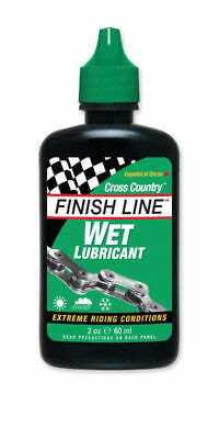 Finish Line Wet Lube (X Country) 2Oz