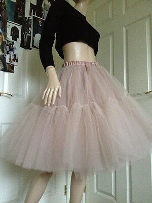 Black Tulle Skirt Carrie Tutu Dress Rockabilly Ball Gown Red White Xmas Party