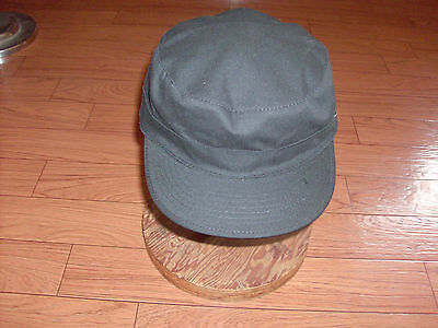New U.s Military Army Style Black Bdu Hat Summer Ripstop Material