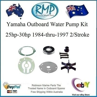 1 x New RMP Yamaha Outboard Water Pump Kit 25hp-30hp 1984-1997 # R 689-W0078-00
