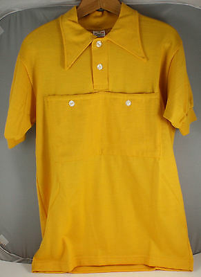 Vintage 40's Cycling Yellow Jersey Tour de France Size 5 Made in Italy Mailler