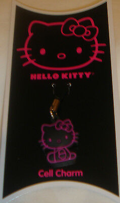 CLAIRE'S HELLO KITTY BY SANRIO CELL PHONE CHARM BRAND NEW