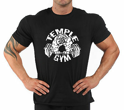 """T-Shirt Bodybuilding Fitness Palestra """"Temple Gym..."""""""