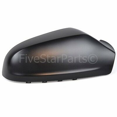 Right DRIVER SIDE WING DOOR BLACK MIRROR COVER FOR VAUXHALL ASTRA H  2004-2008