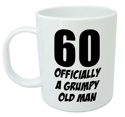 60 Officially A Mug Funny Novelty 60th Birthday Gifts For Men Women Gift Ideas