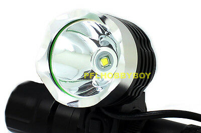 CREE XM-L T6 LED 1600 lumen Bicycle Light Headlight Headlamp Torch 4.2V 8600mAh