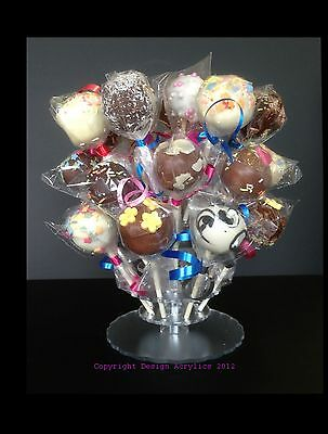 28 Pops Cake Pop Stand, Table Centre Display,Wedding Cake,Birthday Cake Partys