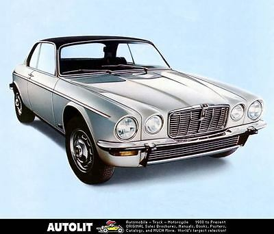 1975 1976 Jaguar XJ 5.3 Coupe Automobile Photo Poster zc4501-13XWYO
