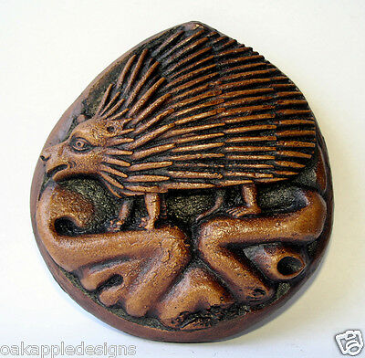 Hedgehog Reproduction Medieval Church Carving Unique Traditional English Decor
