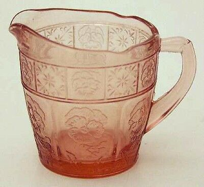 Pink Doric and Pansy Child Creamer