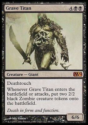 TITANO SEPOLCRALE - GRAVE TITAN Magic M12 Mint
