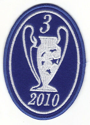 [Patch] CHAMPIONS LEAGUE 3 anno 2010  FC  INTER TRIPLETE toppa ricamata -118