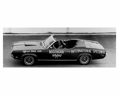 1969 Mercury Cougar Convertible Factory Photo Official Pace Car uc2134-76LHEF