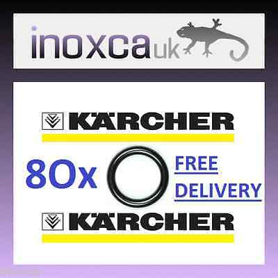 80 Karcher Hd Hds Hose Nozzle Jet Lance Gun Spare O-Ring Seals O Rings Ring Seal