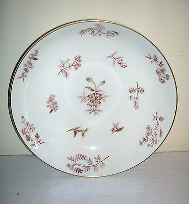"Old Vintage Jyoto Fine China ~ Julie 8107 ~ Round Vegetable Bowl 9-1/4"" ~ Japan"