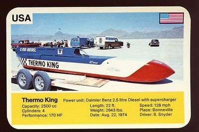 Thermo King - World Record Holder - Top Trumps Card #AQ