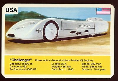 Challenger - World Record Holder - Top Trumps Card #AQ