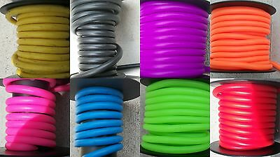 Pine Ridge Silicone Peep Tubing Colored Sight Tube Choice of Color & Length