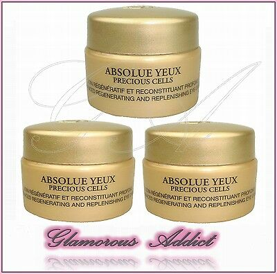 LANCOME Absolue Yeux Precious Cells Eye Cream 15ml (3 x 5ml)