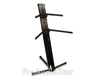 Ultimate APEX Two-tier Portable Column Keyboard Stand AX-48 Pro Plus AX48