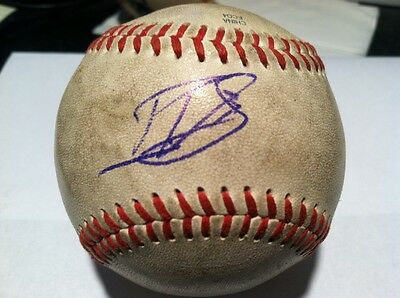 Daniel Vogelbach Game Used Autographed Ball! Cubs!!
