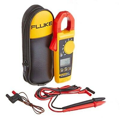 Fluke 325 True RMS AC DC Digital Clamp Meter with Temperature & C23 Carry Case