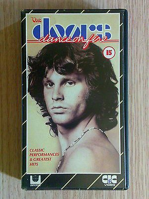 The Doors - Dance On Fire - Videocassetta Vhs Videotape