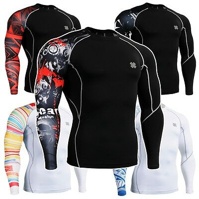 FIXGEAR CP Series Compression Shirts Base Layer Under Skin Tight Training MMA
