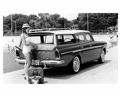 1960 Rambler Custom Station Wagon Factory Photo uc3335-GNXU97