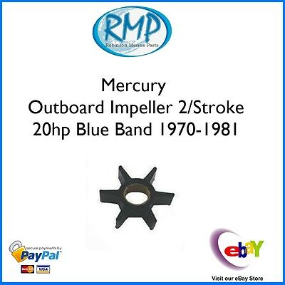 A Brand New Mercury Outboard Impeller  2/Stroke 20hp 1970-1981 # 47-89982