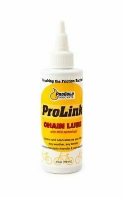Progold Prolink Gold Chain Lube Lubricant  4Oz Oil 118Ml
