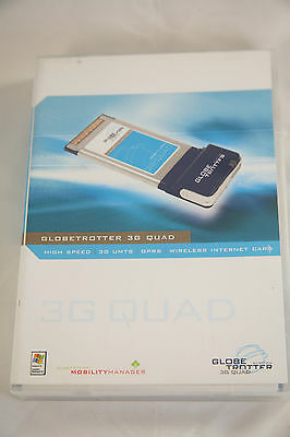 Option Globetrotter 3G Quad Wireless Card - Netbotz / Telstra / Optus / Vodafone