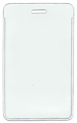 """WHOLESALE 100 250 500 1000 VERTICAL ID BADGE HOLDER INSERT SIZE 4"""" H x 2.6""""W"""