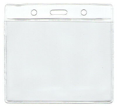 "WHOLESALE 50 100 250 500 1000 HORIZONTAL ID BADGE HOLDER INSERT SIZE 3""H x 4""W"