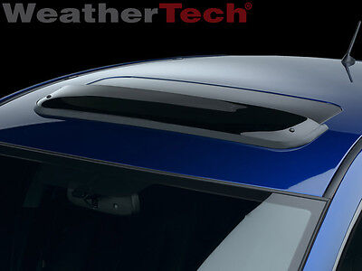 WeatherTech Custom Fit Sunroof Wind Deflectors For Acura RSX Dark - Acura rsx sunroof