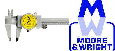 Moore And Wright 0-150Mm Dial Vernier Caliper Mw142-15 Metric Myford Lathe