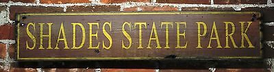 Personalized State Park Sign - Rustic Hand Made Vintage Wooden Sign