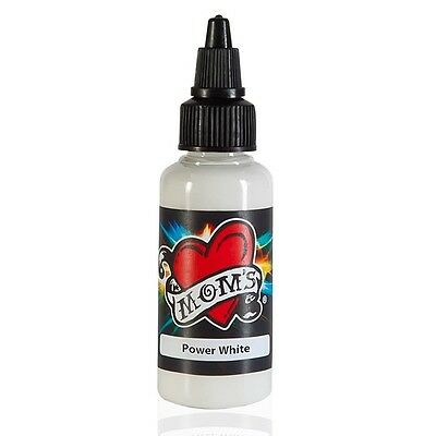 MOMS MILLENNIUM TATTOO INK POWER WHITE  Bright Vibrant Color (2 Sizes Avail)