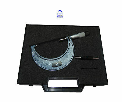 """Moore And Wright Micrometer 3-4"""" Mw1966B4 Myford Imperial"""