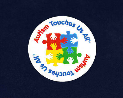 Lot of 24 Autism Touches Us All Magnets