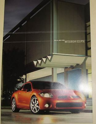 2006 Mitsubishi Eclipse Large Brochure mx7345