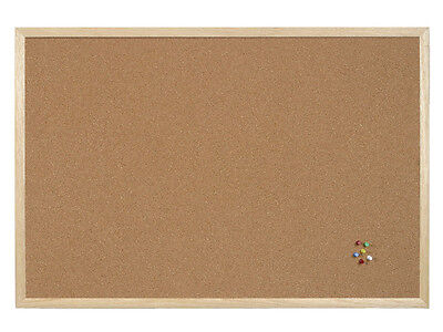 Cork Notice Boards + / - Aluminium Frame 400 X 300 600 X 400 900 X 600 Mm 1200