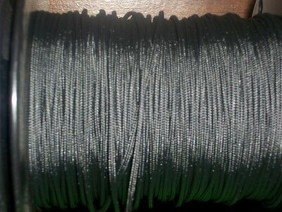 Black BCY #24 D Loop Rope Release Material Sample 1' 3' 5' 10' 25' 50' 100'